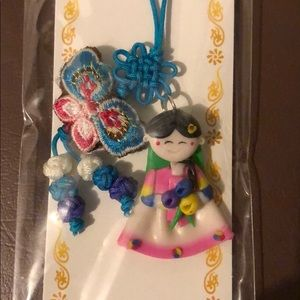 Hand Made Korean Cell Phone Decoration Accessory